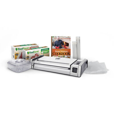 The NEW FoodSaver® GameSaver® Titanium Vacuum Sealer w/ BONUS OFFER