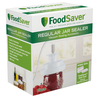 FoodSaver® Regular Jar Sealer