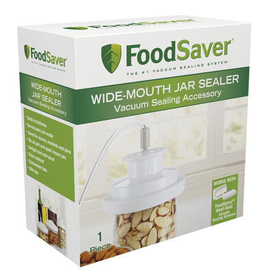 FoodSaver® Wide-Mouth Jar Sealer