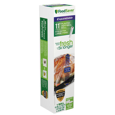 """FoodSaver® 11"""" Expandable Heat Seal Roll"""