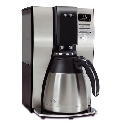 Mr. Coffee® Optimal Brew™ 10-Cup Programmable Coffee Maker with Thermal Carafe, BVMC-PSTX91