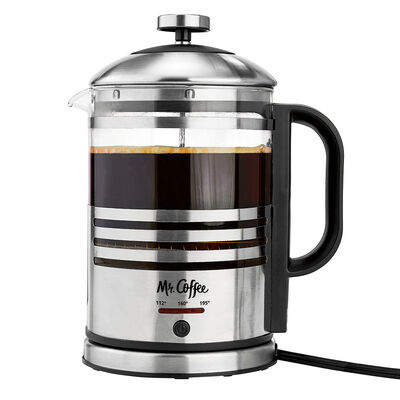 French Press Coffee Maker With Timer : Wellness & Entertaining Gifts for Mom ~ The Review Stew