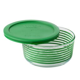 Simply Store® 4 Cup Green Lane Storage Dish w/ Lid