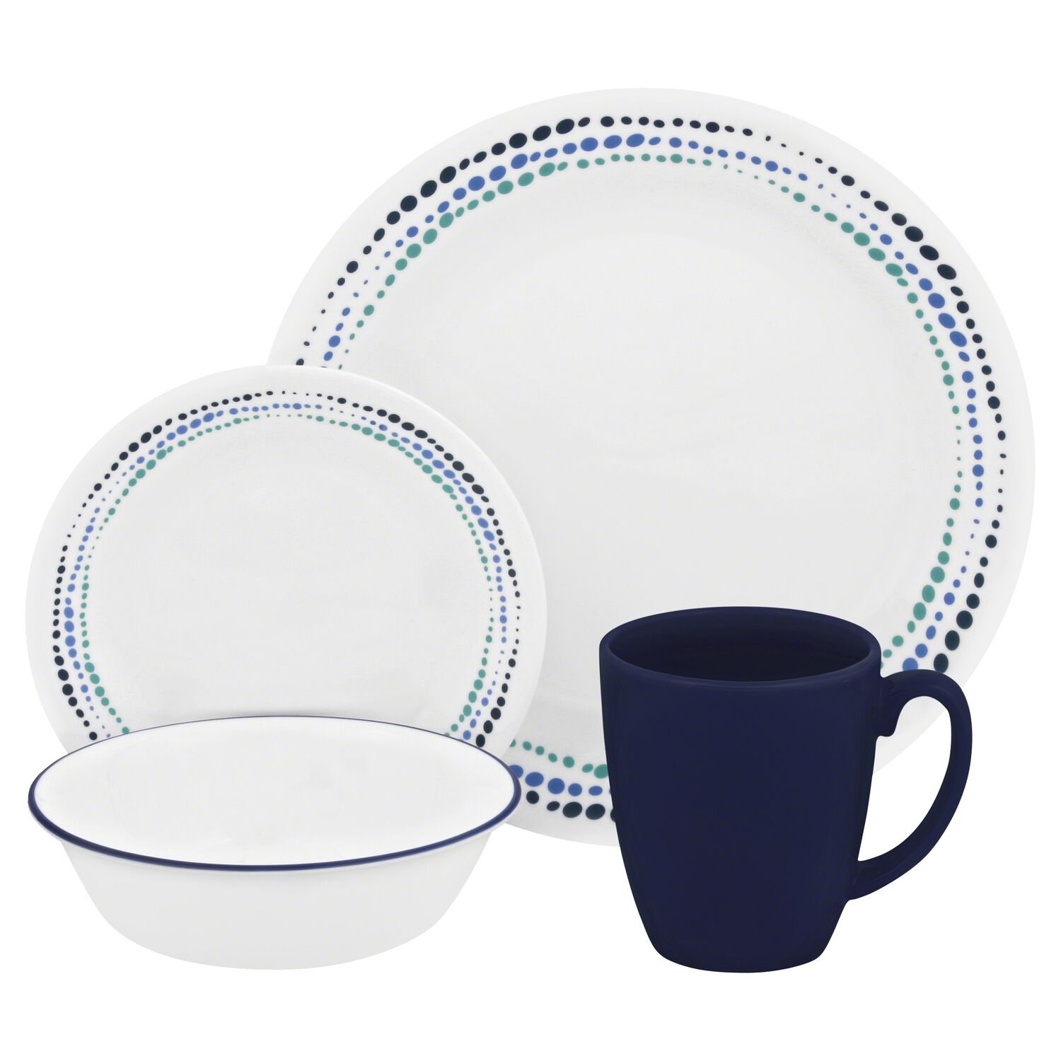 Livingware™ Ocean Blues 16-pc Dinnerware Set | Corelle®