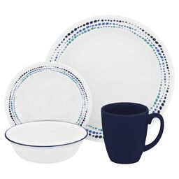 Livingware™ Ocean Blues 16-pc Dinnerware Set