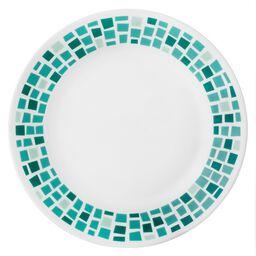 "Boutique™ Precious Colors 8.5"" Plate, Turquoise"