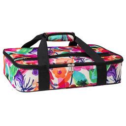 "Watercolors Floral 16"" Rectangle Casserole Portable / Tote Bag"