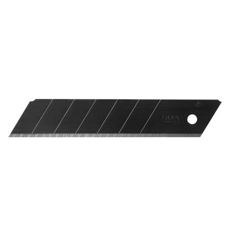 25mm black ultra-sharp snap-off blades, 20 pack (HBB-20B)