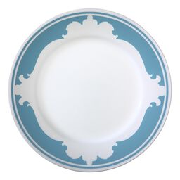 "B-Frames 10.75"" Plate, Bleu"