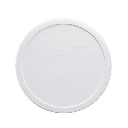 French White® 2.5-qt Round Plastic Lid