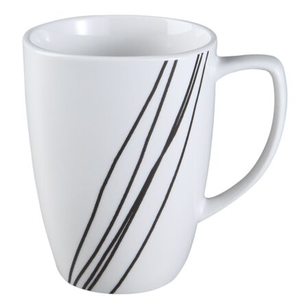 Square™ Simple Sketch 12-oz Porcelain Mug