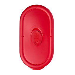 Storage Deluxe™ 2 Cup Oblong Plastic Lid, Red
