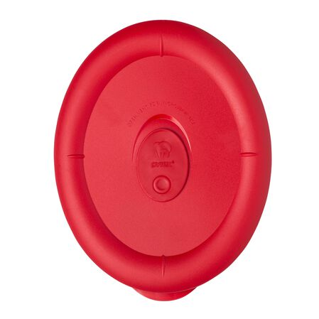 Pro 3.67 Cup Oval Lid, Red
