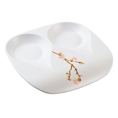 Coordinates® Cherry Blossom Double Spoon Rest