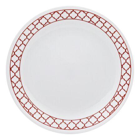 "Livingware™ Crimson Trellis 8.5"" Plate"