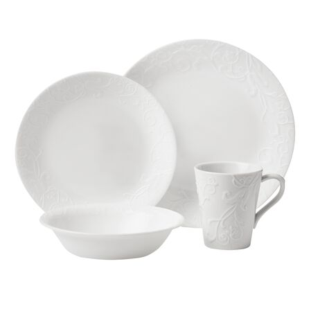 Embossed™ Bella Faenza 16-pc Dinnerware Set