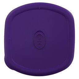 Storage Deluxe™ 3-qt Square Lid, Plum
