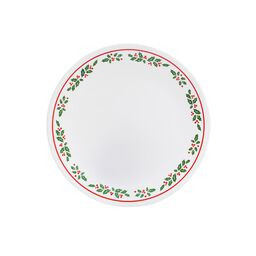 "Livingware™ Winter Holly 8.5"" Plate"