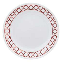 "Livingware™ Crimson Trellis 6.75"" Plate"