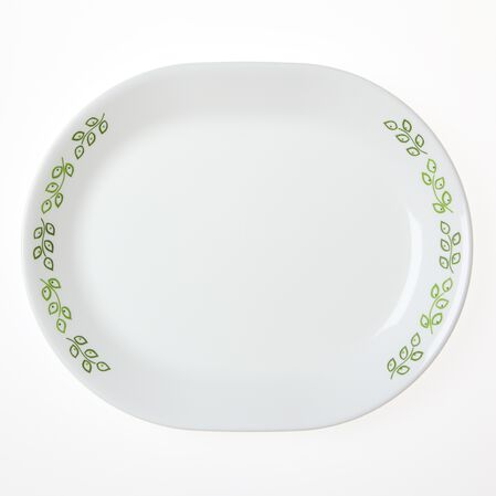 "Livingware™ Neo Leaf 12.25"" Serving Platter"