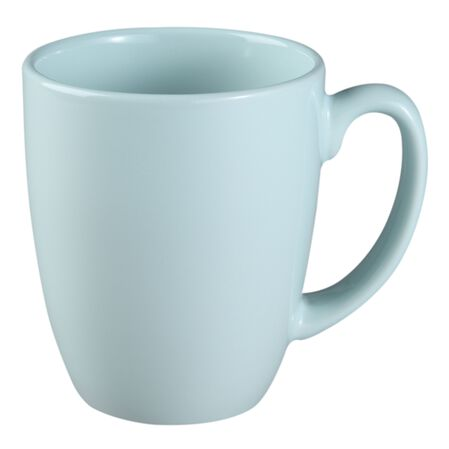 Livingware™ 11-oz Stoneware Mug, Light Aqua