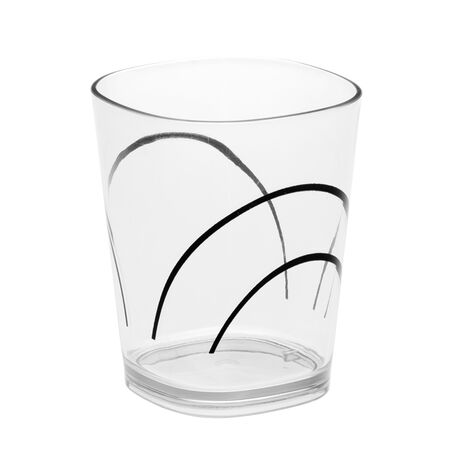 Coordinates® Simple Lines 14-oz Acrylic Glass