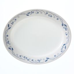 "Livingware™ Provincial Blue 9.5"" Serving Platter"
