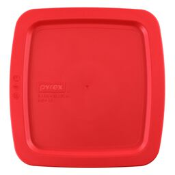 "Easy Grab® Square Lid 8"" x 8"", Red"