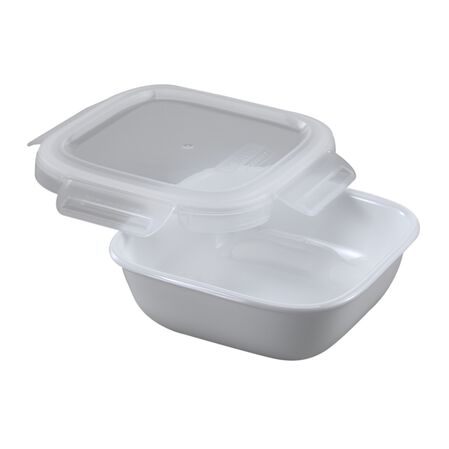Bake, Serve, Store™ 3.5 Cup Square Baker w/ Snapware® Lid