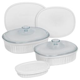Corningware® French White® 8-pc Oval Set