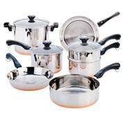 Copper Bottom 10-pc Cookware Set