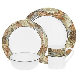 Impressions™ Woodland Leaves 16-pc Dinnerware Set
