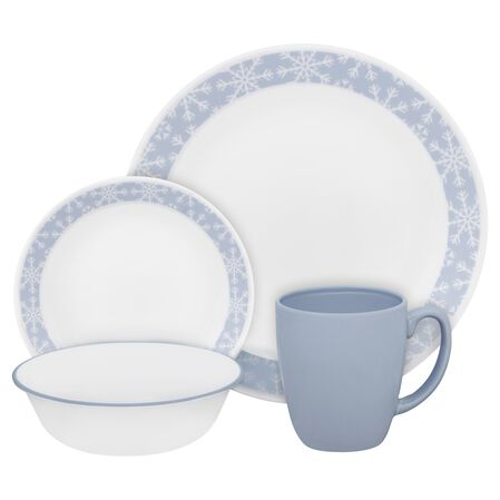 Livingware™ Crystal Frost 16-pc Dinnerware Set