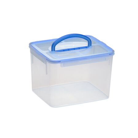 Airtight Food Storage 29-Cup Rectangular Container w/ Handle