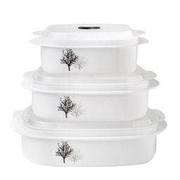 Coordinates® Timber Shadows  6-pc Microwave Set