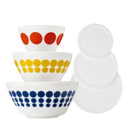 Spot On 6-pc Mixing Bowl Set, inspired by Pyrex®