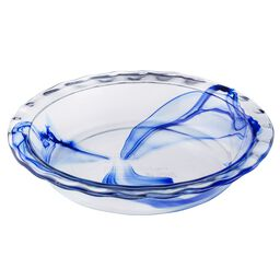 "Watercolor Collection™ Blue 9.5"" Pie Plate"