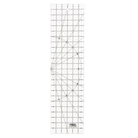 """6"""" x 24"""" Frosted Acrylic Ruler (QR-6X24)"""