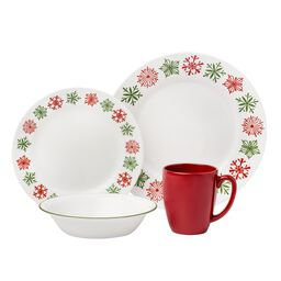 Impressions™ Cheerful Flurry 16-pc Dinnerware Set