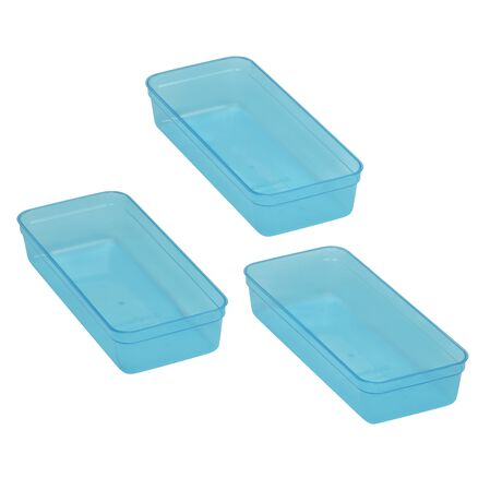 Smart Store® 3-Pc Organizer Trays, Replacement Trays