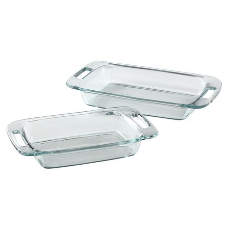 Easy Grab® 2-pc Oblong Baking Dish set
