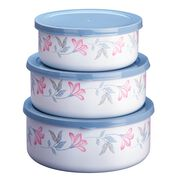 Coordinates® Pink Trio 6-pc Bowl Set