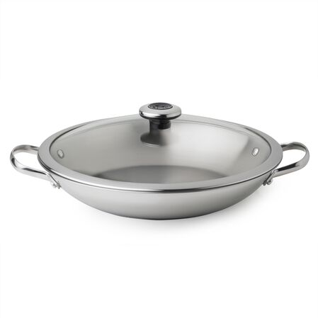 Copper Confidence Core™ 3.2-qt Stainless Steel Braising Pan w/ Lid