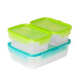 Airtight Food Storage 6-pc Rectangular Set