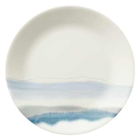 "Blue Adirondack 10-1/2"" Plate"