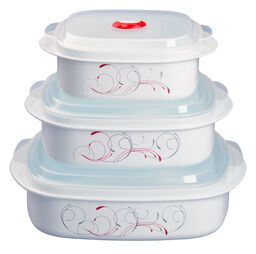 Coordinates® 6-pc Microwave Set