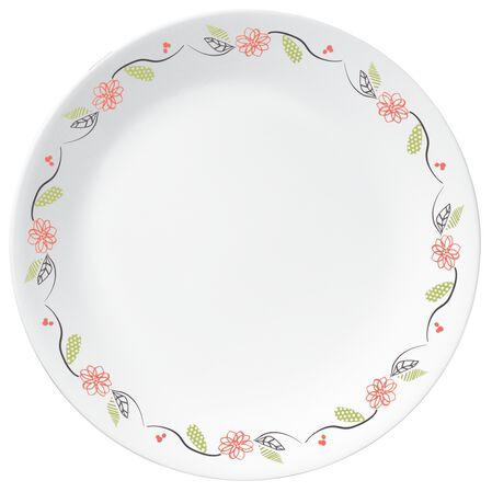 """Livingware™ Tangerine Garden 10.25"""" Plate"""