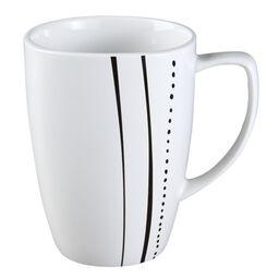 Square™ Cascading Lines 12-oz Porcelain Mug