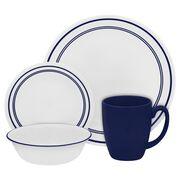 Livingware™ Classic Café® Blue 16-pc Dinnerware Set