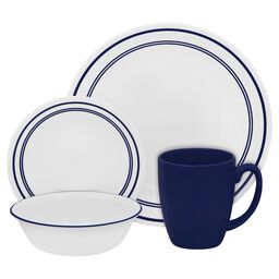 Livingware™ Classic Café® Blue 16-pc Dinnerware Set